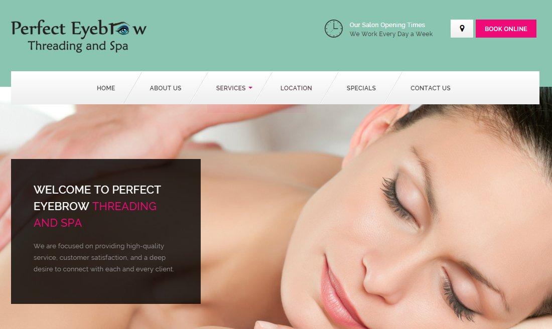 Perfect Eyebrow Threading And Spa Easy Marketing